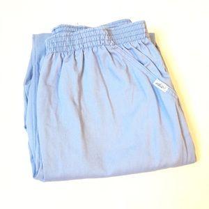 Vintage powder blue high rise joggers / pants 16P